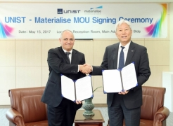 UNIST Signs Cooperation MoU with Belgian 3D Printing Pioneer