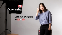 UNIST Graduate Selected for GRA-NRF Program in Canada