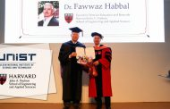 Executive Dean Fawwaz Habbal from Harvard SEAS Receives Honorary Degree from UNIST