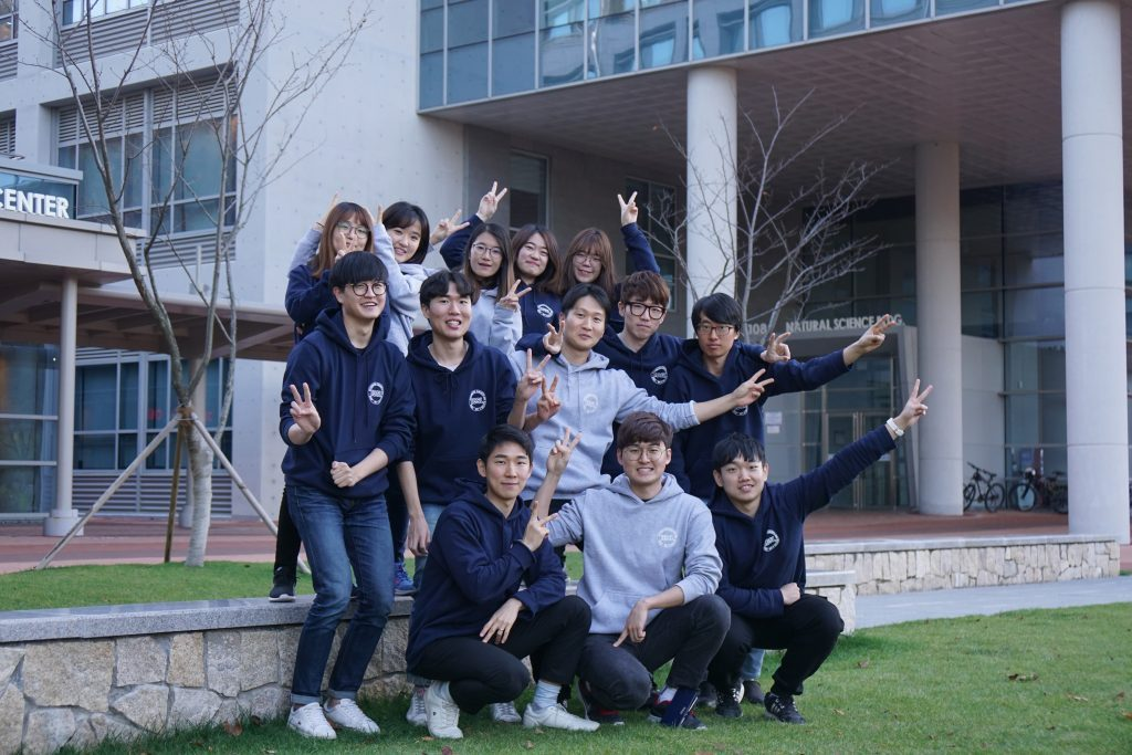Ms. Yoon and her colleagues at UNIST. l Image Credit: Huei In Yoon