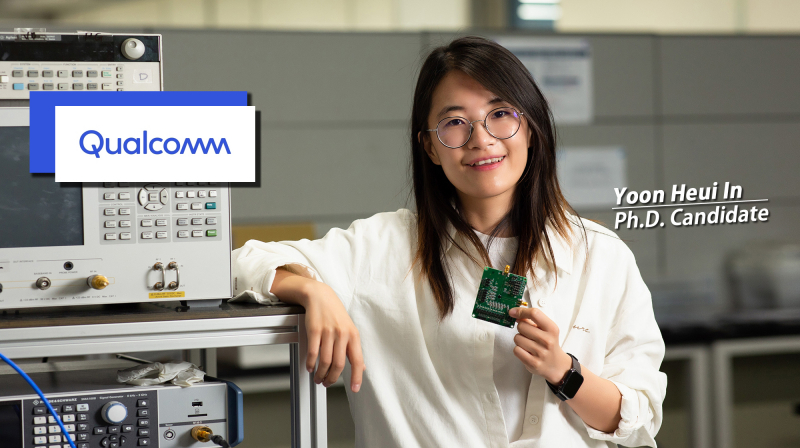 A UNIST Doctoral Candidate, Offered to Join Qualcomm