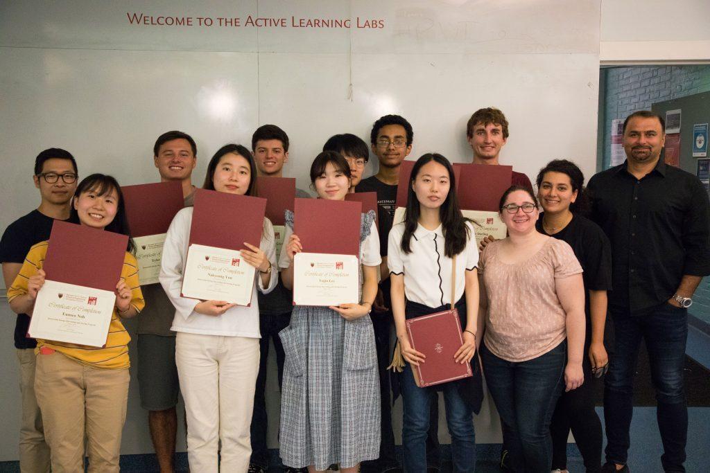 2019 UNIST-Harvard SEAS Summer Exchange Program 3