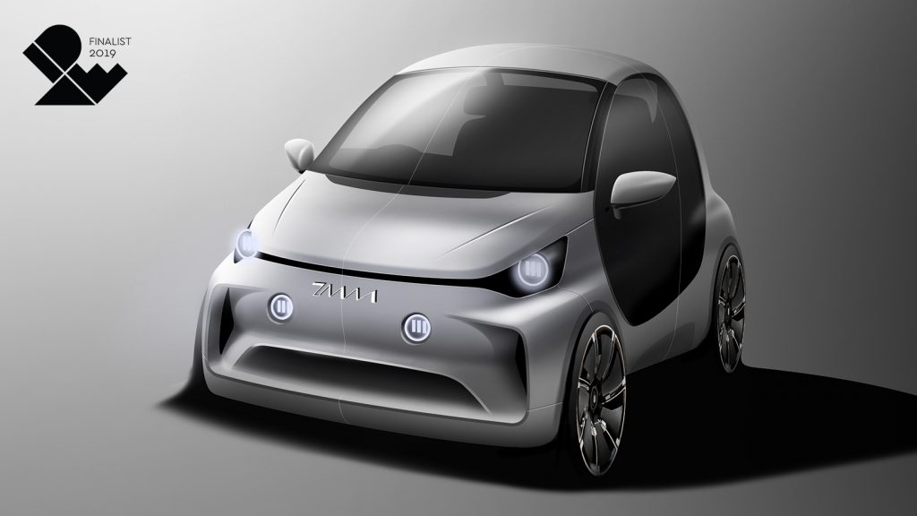 그림-2019-IDEA-디자인-어워드에서-본상을-수상한-초소형-전기차-디자인-어반Urban1