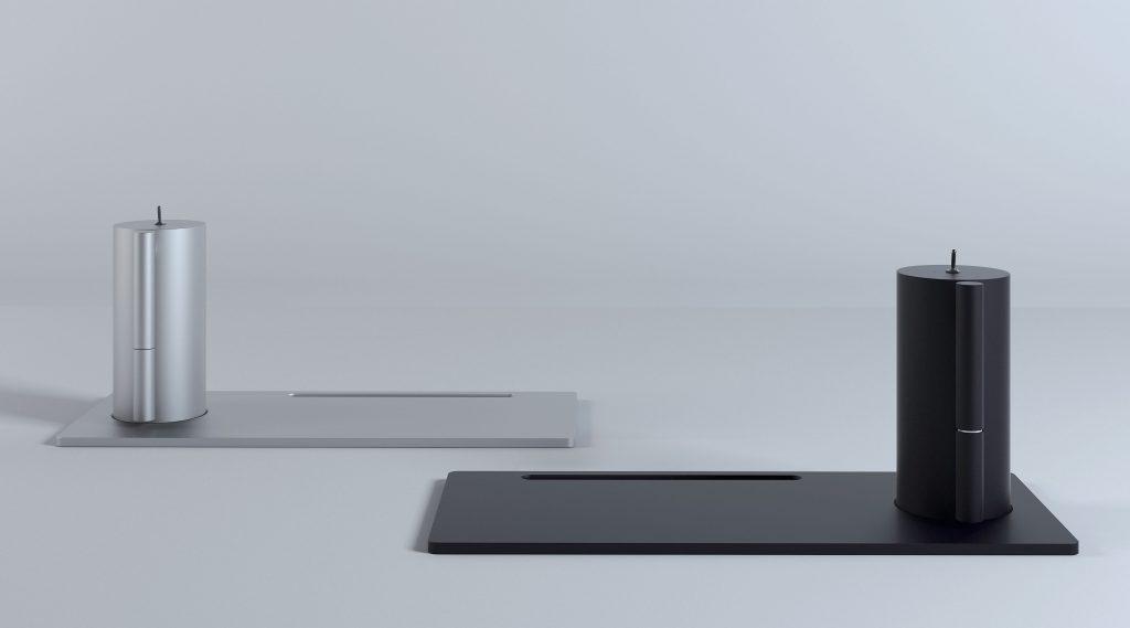 제품사진-솔디는-펜-모양의-인두-연필꽂이-모양의-스테이션과-종이-형상의-플레이트로-구성된다