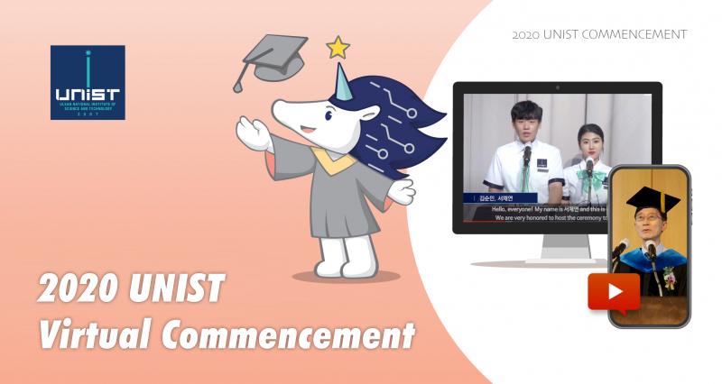 UNIST Announces Virtual Ceremony Honouring 2020 Commencement Class