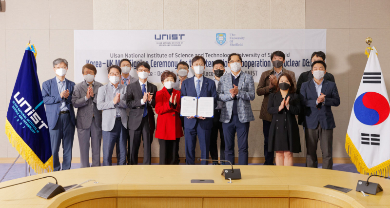 UNIST Signs MOU with University of Sheffield for Cooperation and Mutual Growth