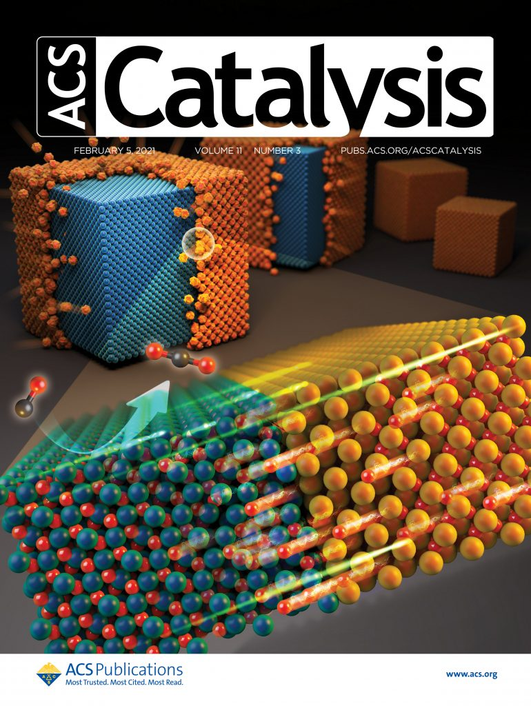 The findings of this research have been published in the February 2021 issue of ACS Catalysis and featured on the cover of the print edition.