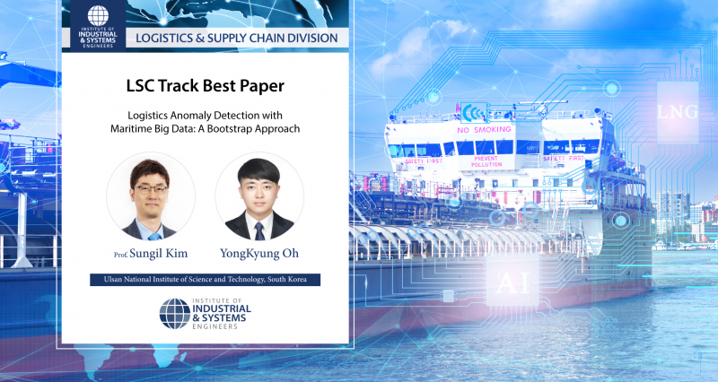 UNIST Announces 2021 Winners of IISE LSC Division Best Paper Award!