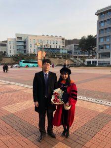 Professor Bang and Dr. Jeong