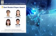 UNIST Announces 2021 Winners of AHFE Best Student Paper Award!