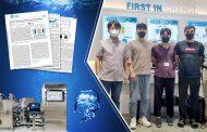 A Novel Hybrid Seawater Sterilization and Neutralization System