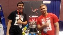 캐나다 연구진이 만든 '히치봇'의 모습. |사진: 위키백과