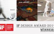 iF 디자인 어워드 2019: 아이몬, 스툴디, 100달러 도서관