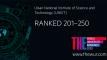 2020 THE 세계대학랭킹 … UNIST, 3년 연속 피인용도 국내 1위!