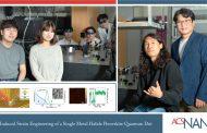 단일 양자점 밝기와 색깔 조절하는 기술 최초 개발!