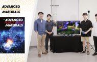 손으로 만지고 느끼는 가상현실(VR) 장갑 개발