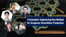 Clockwise from top right: Dr. Jungwon Park (Harvard Univ.), Hoonkyung Lee (Konkuk Univ.), Dr. Won Chul Lee (Tyoko Univ.), Prof. Hu Young Jeong (UNIST), and Prof. Kwanpyo Kim (UNIST).