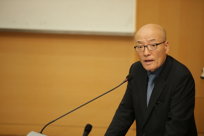 Special Lecture by Chairman of Korea News Agency Commission