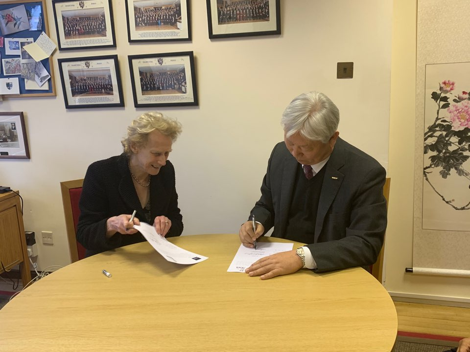UNIST and Cambridge Univ MoU 2
