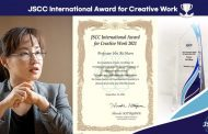 UNIST Professor Honored with JSCC International Award for Creative Work